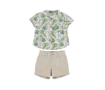 Sand Shorts and shirt set