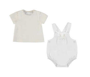 Stone Shirt and Diaper Cover Set