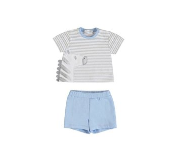Blue Bay Short Set Grey Zebra