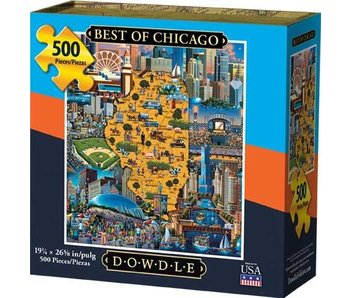 Best of Chicago Puzzle
