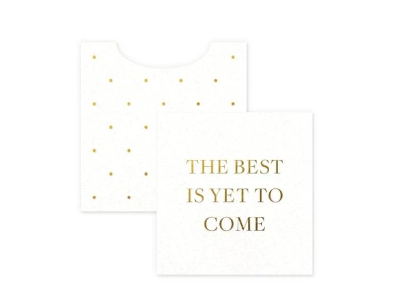Smitten on Paper Gift Enclosures - Best Is To Come