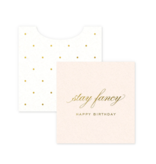Smitten on Paper Stay Fancy Birthday Gift Enclosures