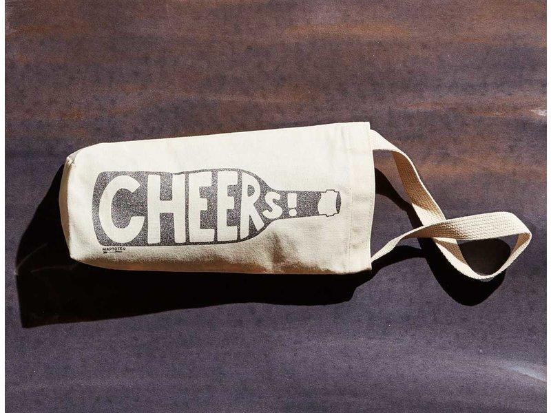 Map Tote Cheers! Wine Tote