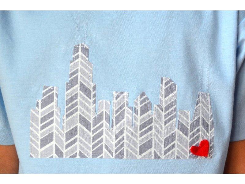 Sam & Coop Chicago Skyline