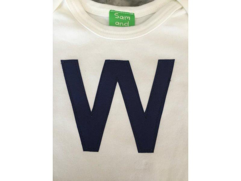 Sam & Coop Chicago Cubs W Onesie