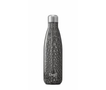 Black Croc S'Well Thermal Bottle