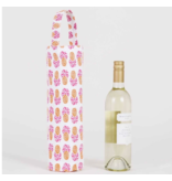 Rock Flower Paper Aloha Pineapple Reusable Wine Tote