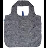 Rock Flower Paper Zebra Reusable Shopping Bag
