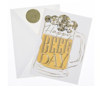 Happy Beer Day Greeting Card