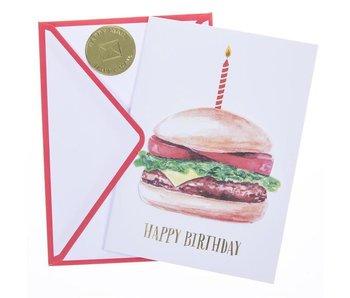 Hamburger Handmade Card