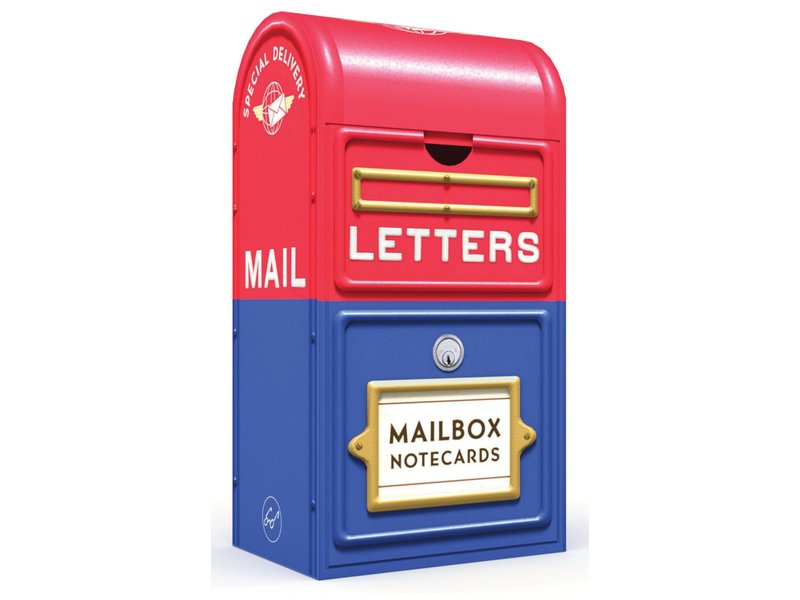 Chronicle Books Mailbox Notecards