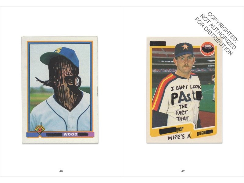 Chronicle Books Baseball Card Vandals