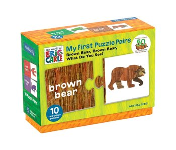 Eric Carle Brown Bear Matching Puzzle