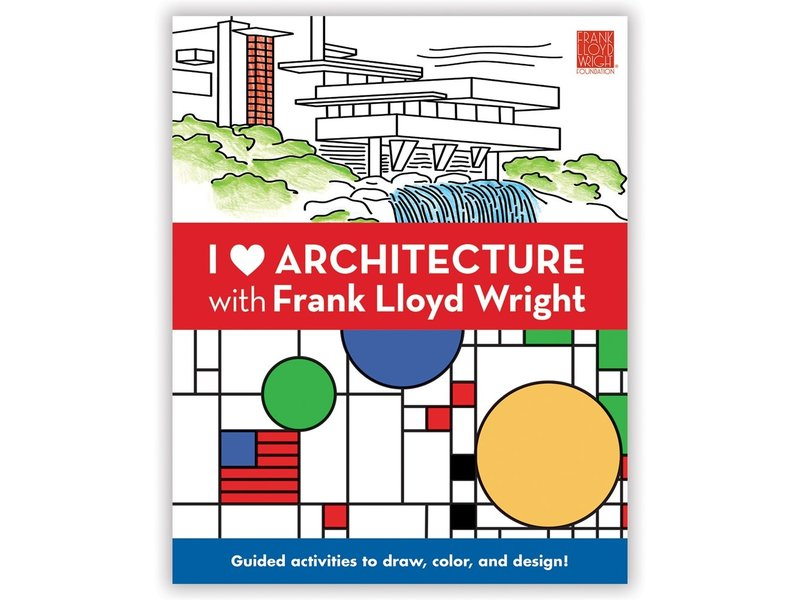 Chronicle Books I Heart Architecture with Frank Lloyd Wright Activity Book