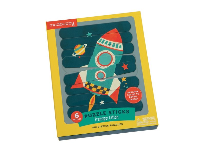 Chronicle Books Space Ship Sticks Puzzle