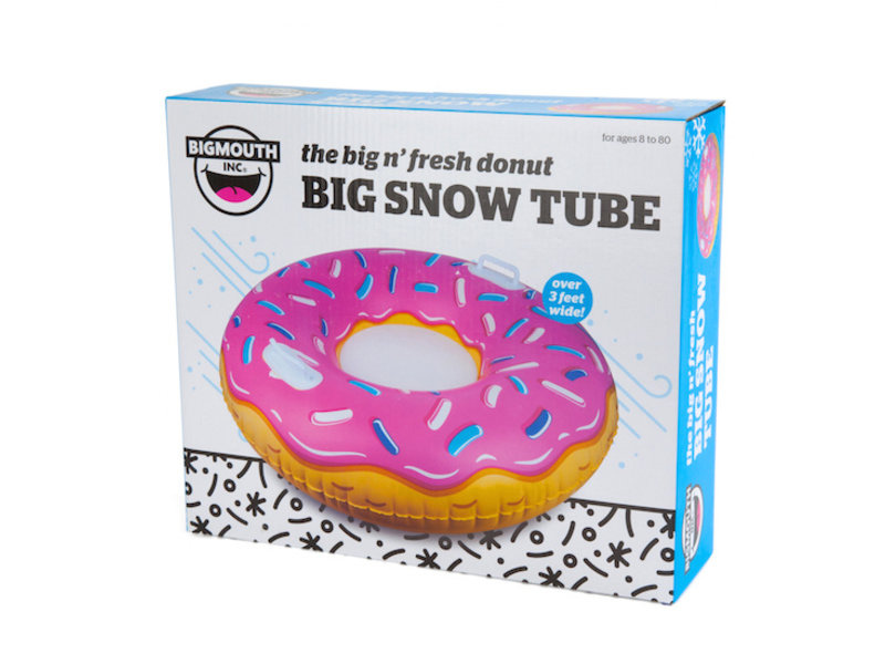 Big Mouth Giant Frosted Donut Snow Tube