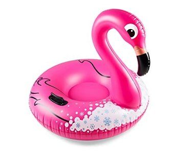 Giant Flamingo Snow Tube