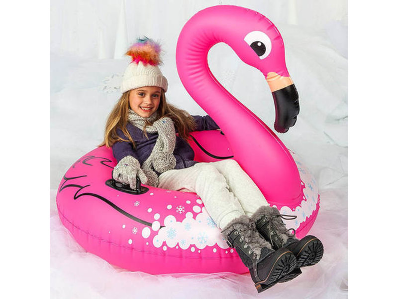 Big Mouth Giant Flamingo Snow Tube