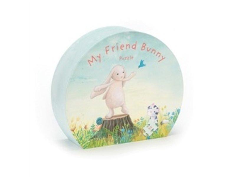 JellyCat Inc My Friend Bunny Puzzle