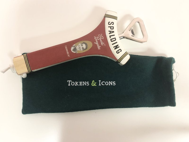 Tokens & Icons Tennis Racquet Neck Bottle Open