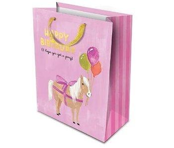 HBD Pony Gift Bag