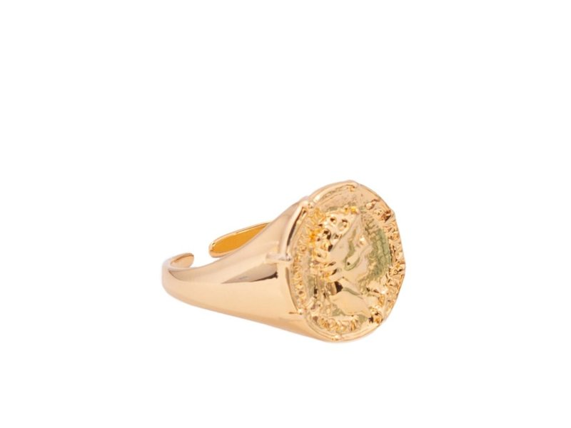 Jonesy Wood Crispus Ring in Gold