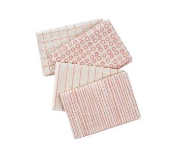 Pink Dot & Doodle Tea Towel