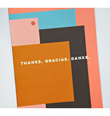 The Completist Thanks Gracias Danke Card
