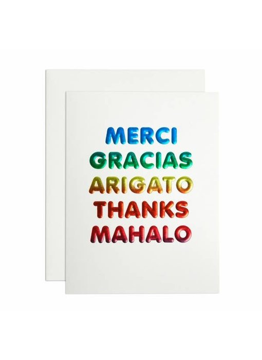 Thanks Languages