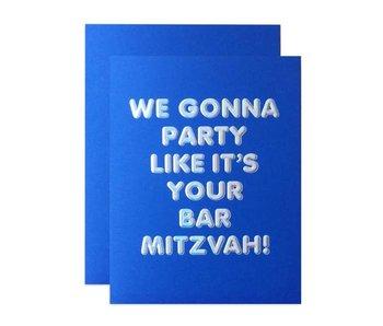 Batz Mitzvah Congrats card