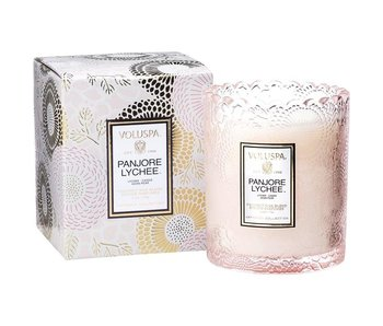 Panjore Lychee Scalloped Edge Candle