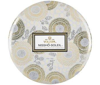 Nissho-Soleil 3 Wick Tin