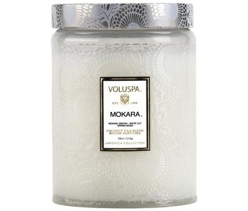 Mokara Glass Jar Candle