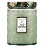 Voluspa French Cade Lavender Glass Candle