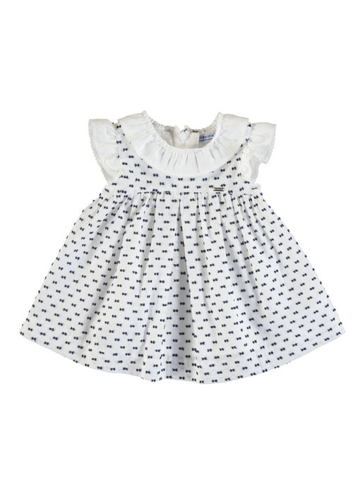 White Swiss Dot Dress