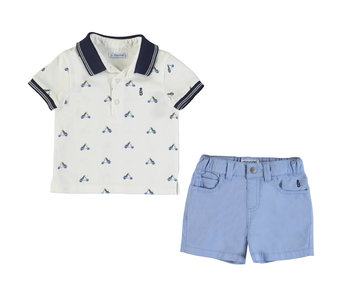 Vespa Dog Polo & Short Set