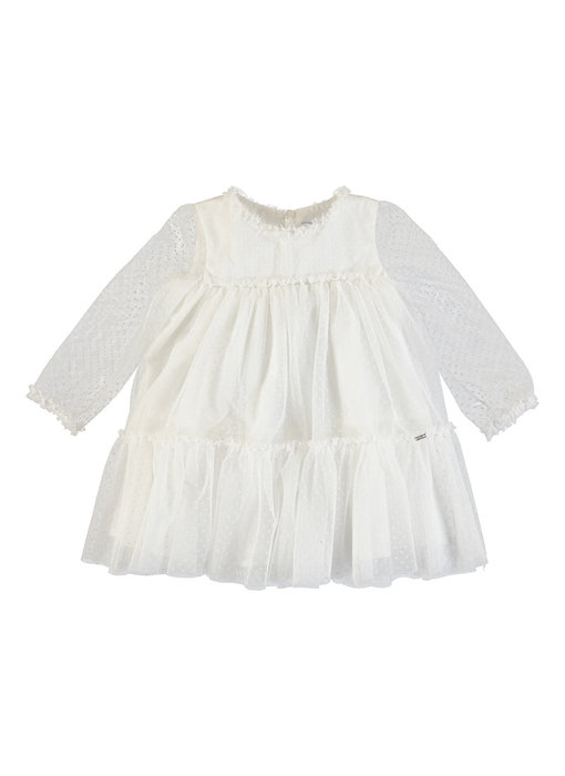 Long Sleeve Tulle Dress