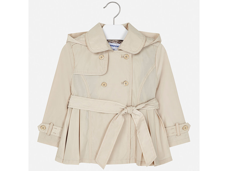 Mayoral Tan Trench Coat