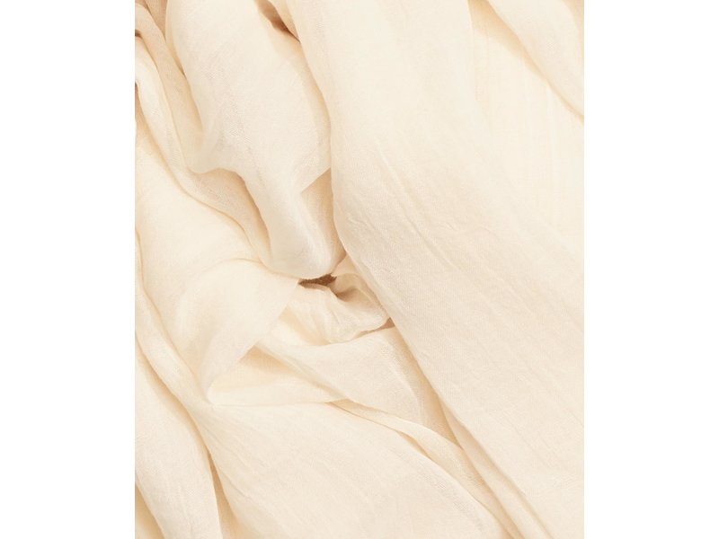 Echo Design New York Solid Crinkle White Sand Scarf
