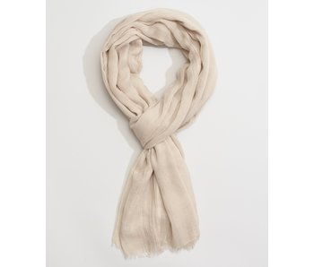 Solid Crinkle Linen Scarf