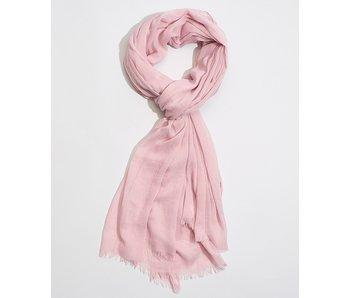 Solid Crinkle Smoked Lilac Scarf