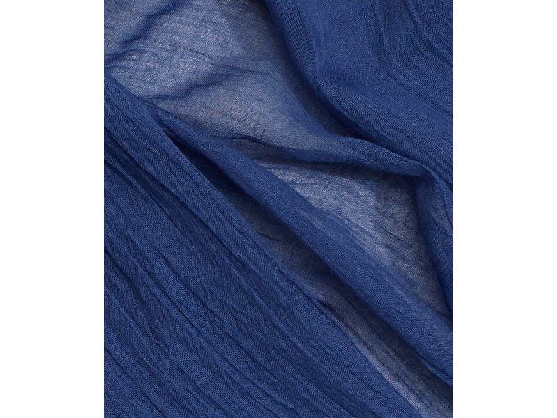Echo Design New York Solid Crinkle Navy Scarf