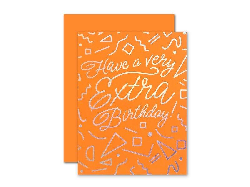 The Social Type Extra Birthday Neon