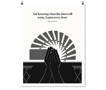 Emily Dickinson Quote Print