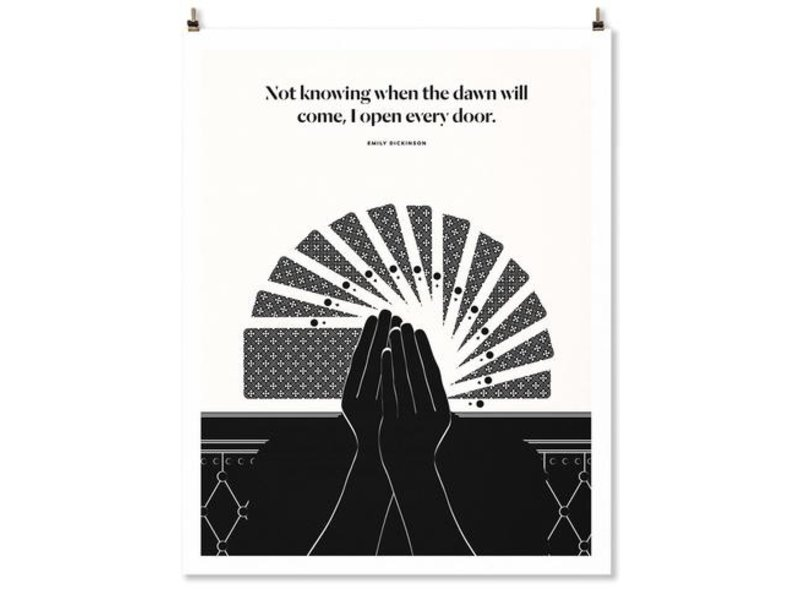 Abrams Emily Dickinson Quote Print