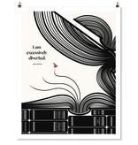 Abrams Jane Austen Quote Print
