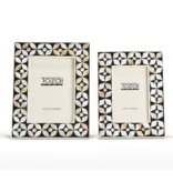 Two's Company Black & Mother of Pearl Picture Frame