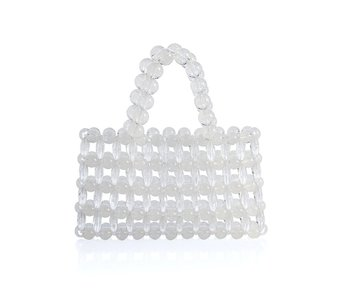 Silvia Mini Tote, Clear