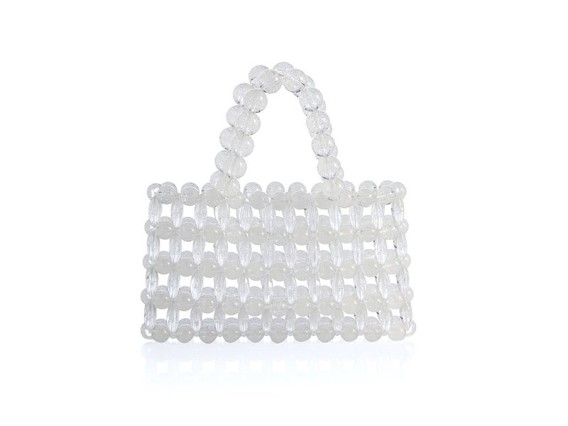 Shiraleah Clear Silvia Mini Tote