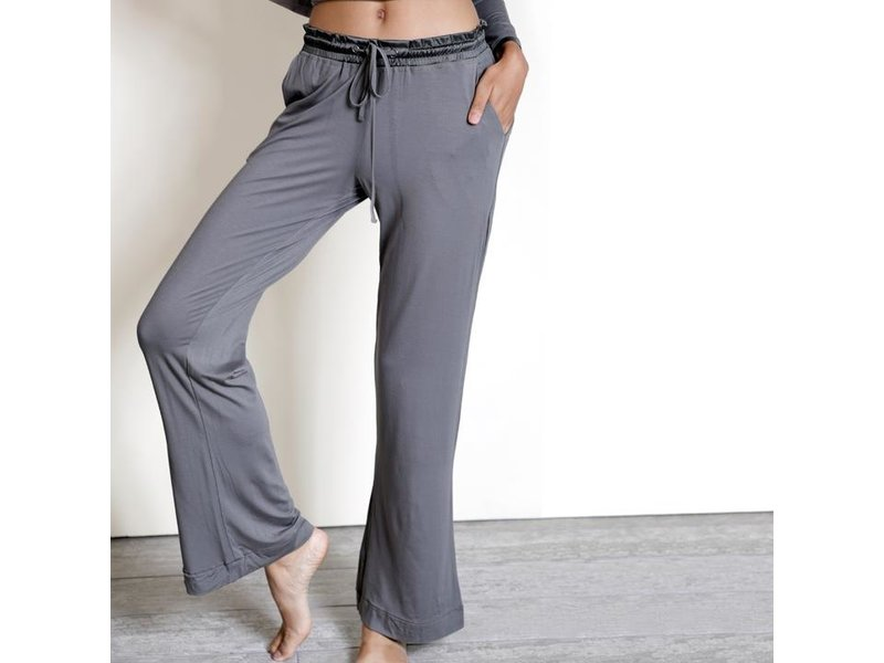 Faceplant Grey Bamboo Pajama Set